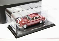 Atlas Jaguar Collection Jaguar MK2 1960 Maroon Red - 1:43 Mint In Box