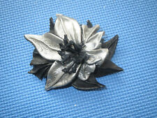 Leather Hair Clip, Hand made