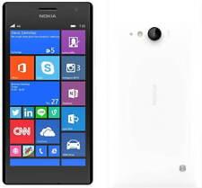 BNIB Nokia Lumia 735 White 8GB Windows 10 Wifi 4G GPS Unlocked Smartphone