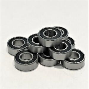 5x11x4mm  Ball Bearing Rubber Sealed 10 pack - Fits Tamiya TT02 - TT-02 BB2