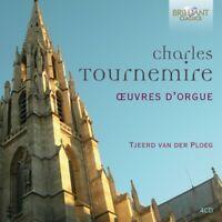 TOURNEMIRE:OEUVRES D'ORGUE - PLOEG,TJEERD VAN DER  4 CD NEUF TOURNEMIRE,CHARLES