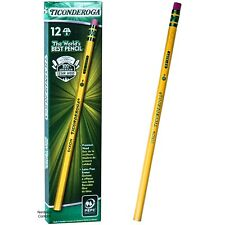 Dixon Ticonderoga 13881 1B Ex-Soft Pencils, Box of 12