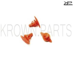 10 for Honda Toyota Lexus Clip Plastic Door Rubber Weather Seal Boot Strip Mould