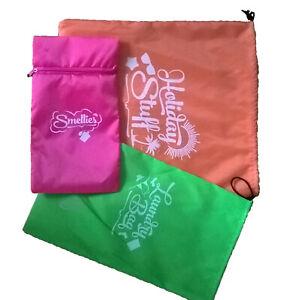 Travel bags 3 pack Underwear Wash bag Drawstring Organizer Storage Bag /zip Shoe