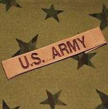 US Army Desert Combat / DCU Assault Patch - 'A' bag / 'B' bag use? Unused. VGC