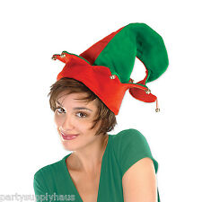 Santa's Helper ELF HAT with BELLS Party Accessory CHRISTMAS Holiday Photo Prop