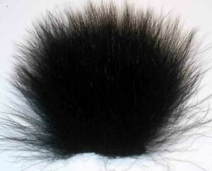 Top Quality Long, fine and soft Bear Hair Black or Brown.