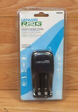 Genuine Lenmar (R2G2C) Compact AA / AAA Charger For 1-2 Batteries Over Night