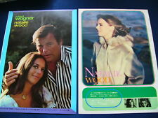 1970s-1980s Natalie Wood 19 Japan VINTAGE Clippings /w Robert Wagner VERY RARE