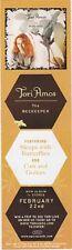Tori Amos The Beekeeper RARE promo bookmark 2005