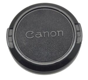 Genuine Canon 52mm Clip On Front Lens Cap Made in Japan Used