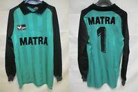 Maillot MATRA RACING PARIS goal n°1 vintage 1984 UHLSPORT shirt trikot maglia L