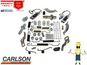 "Complete Rear Brake Drum Hardware Kit For Plymouth Satellite 1970-1974 w/ 10"""