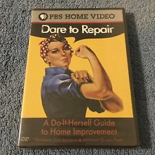 Dare to Repair: A Do-It-Herself Guide to Home Improvement (DVD, 2004, FS) NEW