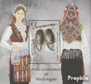 kosovo block44 (complete issue) unmounted mint / never hinged 2017 Costumes