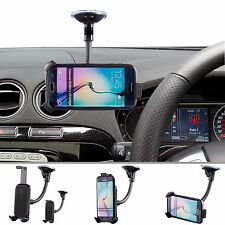 Car Flexible Arm Suction Mount + One Holder For Samsung Galaxy S6 S7 Edge