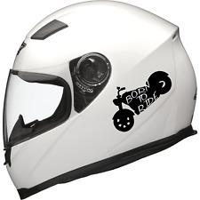 Custom Bike Helmet Decal Chopper Helmet Sticker Custom Chopper Helmet Sticker