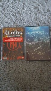Lot 2 dvd nu metal ILL NINO CHEVELLE