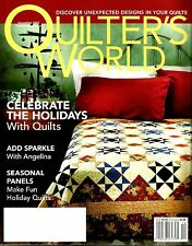 2007 Quilter's World Magazine Volume 29, No.6 Celebrate The Holidays #Q86