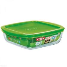 Pyrex Cook and Store Plus 1L Square Dish with Lid