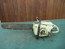 "Vintage PIONEER 14-50 Chainsaw Chain Saw with 18"" Bar"
