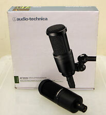 Audio-Technica AT2020 Condenser Cable Professional Microphone
