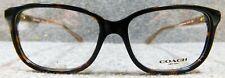 NEW Coach Dark Tortoise HC 6143 5120 54-15-140 Eyeglasses Frames FREE SHIPPING!
