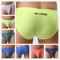 BRAVE PERSON New Sexy Underwear Men's Fashion Briefs Bikini M L XL