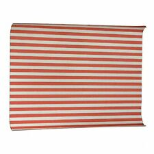 More details for red stripped burger wrapping paper - grease proof paper sheets 10