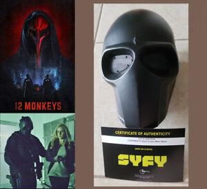 12 MONKEYS Tv: Shane's Black Mask Prop w/SyFy COA