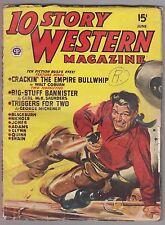 10 Story Western June 1948 Pulp Walt Coburn Carl McK. Saunders George Michener
