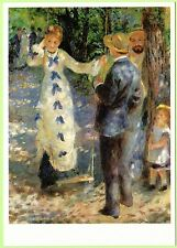PIERRE-AUGUSTE RENOIR The Swing (1876) Modern Postcard - Brand New, Out of print