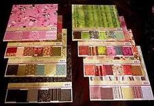 Lot of 96 Miss Elizabeth's Jewels Scrapbooking Paper