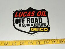 8.5 x 4 #739-9142018 LARGE Drag Racing Series LUCAS OIL Products Sticker