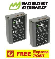 2 x Wasabi Power Batteries for Olympus BCN-1, BLN-1 Olympus OM-D E-M1, OM-D E-M5