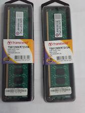 2X4 GB DDR3 Transcend für Apple Mac Pro Registred 1333 CL9