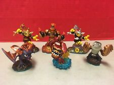 Skylanders Swap Force Lot Of 6 Figures Toys Wham-Shell Spyro Hoot Loop TerraFin