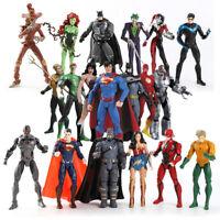 DC Justice League Super Hero Batman Joker Poison lvy Aquaman Robin Flash Figure