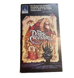 The Dark Crystal Thorn EMI Video Jim Henson Cult Classic VHS RARE HTF Clamshell
