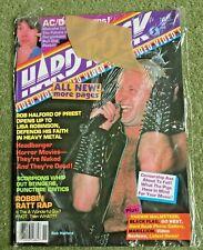 Hard Rock Magazine Nov 1985 Judas Priest AC/DC Malmsteen Black Flag RATT MADONNA
