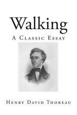 Walking: A Classic Essay by Thoreau, Henry David -Paperback