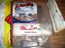 New listing Vintage Fishing Lures , Mister Twister, Swivels, Finkwater? Troll Weights