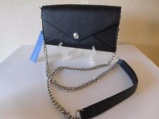 New Rebecca Minkoff Wallet on a Chain without Studs - Black