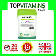 Collagen (Marine) 400mg 90 Capsules ✰ Healthy Skin Anti Ageing Joints Tablets ✰
