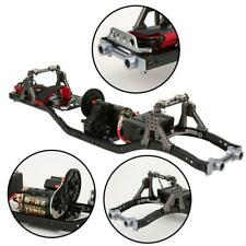 1:10 SCX10 D90 Crawler Auto RC Rahmen mit 550 Motor DIY Kohlefaser Metall