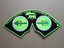 Passaconaway Lodge Conference BSA Woven Cloth Patch Badge Boy Scouts Scouting