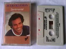JULIO IGLESIAS - SENTIMENTAL - cassette tape k7 audio