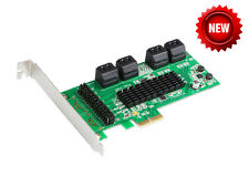 IO Crest SATA III 8 Port Controller Card PCE-e 2.0 X2 (SI-PEX40071)
