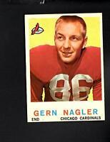 4520* 1959 Topps # 93 Gern Nagler NM-MT