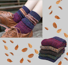 Stylish Fair Isle Design Quality Cotton Ankle Length Boot Socks Comfortable Gift